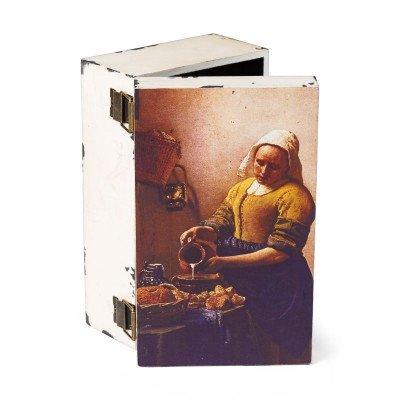 Xenos Opbergboek Meisje met parel - 18x6x24 cm