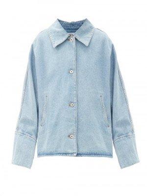 Loewe - Oversized Denim Jacket - Womens - Denim