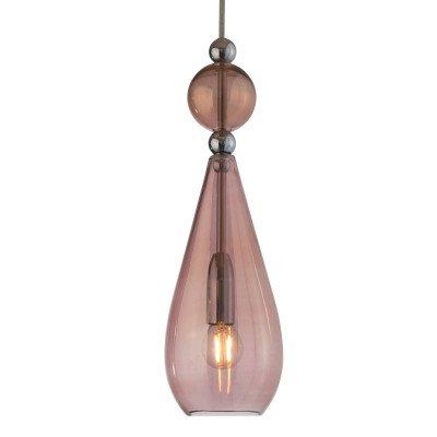 Ebb en Flow EBB & FLOW Smykke hanglamp zilver, bruin-rosé