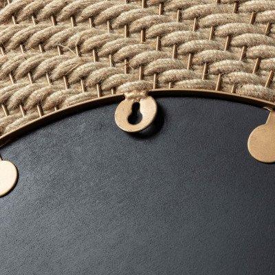 Kave Home Kave Home Spiegel 'Roseburg' 80.5cm, kleur Koper
