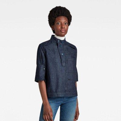G-Star RAW Workwear Shirt - Donkerblauw - Dames
