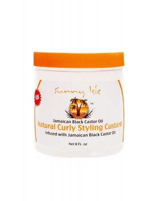 Sunny Isle Hair Custard voor krullen met Jamaican Black Castor Oil - 236 ml Sunny Isle