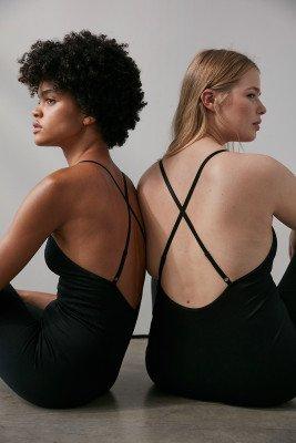 NA-KD Flow NA-KD Flow Naadloos Bodysuit - Black
