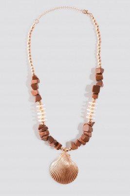 Trendyol Tulum Necklace - Brown