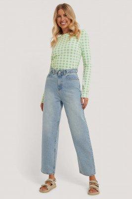 Emilie Malou x NA-KD Jeans - Blue