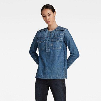 G-Star RAW Workwear Shirt - Midden blauw - Dames