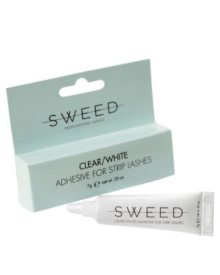 Sweed Lashes Sweed Lashes - Adhesive for Strip Lashes Clear/White - 7 gr