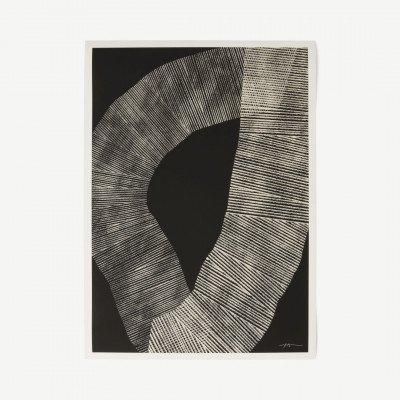 MADE.COM The Poster Club, Abstract 696, print door Studio Paradissi, 50 x 70 cm