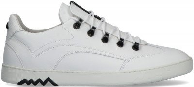 Floris van Bommel Witte Floris Van Bommel Lage Sneakers 16464