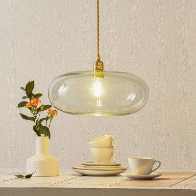 Ebb en Flow EBB & FLOW Horizon hanglamp goud rook Ø 36cm