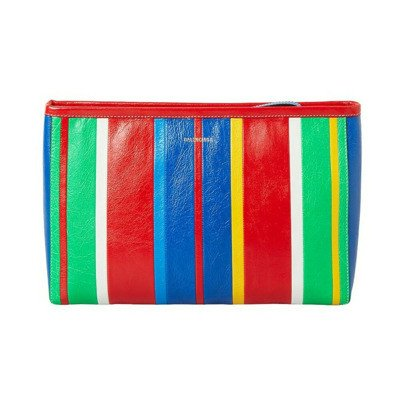 Balenciaga Barbes Large Zip Pouch With Handle