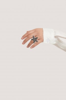 NA-KD Accessories Enkele Ring - Silver