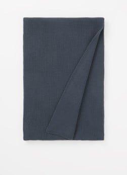 ARMEDANGELS ARMEDANGELS Faabero fijngebreide sjaal van biologisch katoen 180 x 30 cm