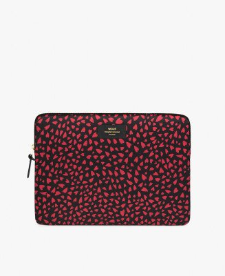 """Wouf Wouf 13"""" Laptop Sleeve Hearts"""