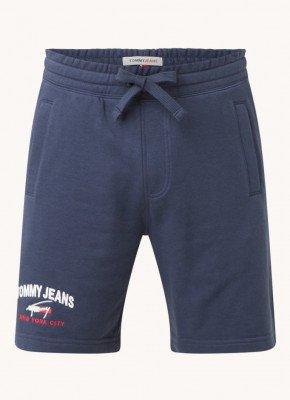 Tommy Hilfiger Tommy Hilfiger Straight fit sweatshorts met logoborduring