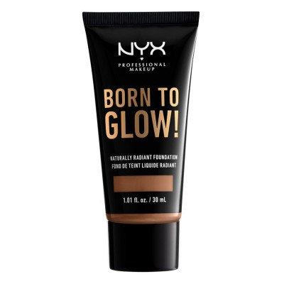 NYX Professional Makeup Warm Caramel Born To Glow Foundation 30 ml