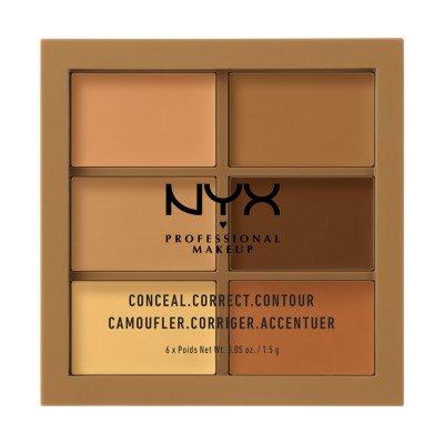 NYX Professional Makeup NYX Professional Makeup Deep Concealer Correct Contour Palette Contouring 1.5 g