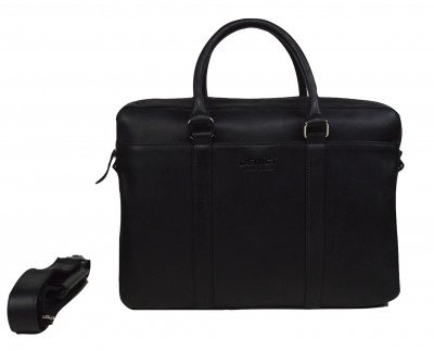 DSTRCT DSTRCT Premium 15,6 inch Laptoptas Zwart
