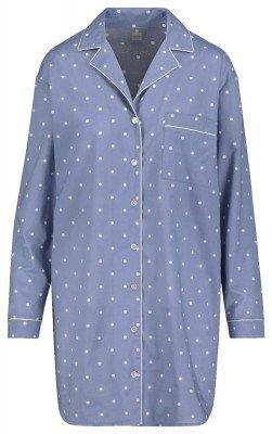 HEMA Dames Nachthemd Blauw (blauw)