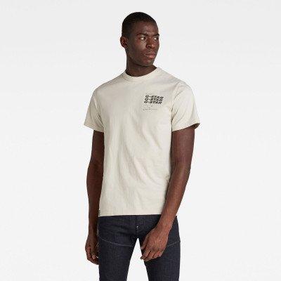 G-Star RAW Big Back Graphic T-Shirt - Beige - Heren
