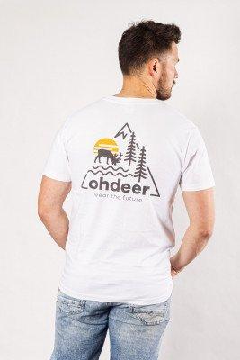 ohdeer NL Sunrise T-Shirt | Clear White