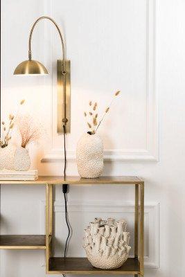 vtwonen vtwonen Wandlamp 'Jupiter' LED, antiek brons
