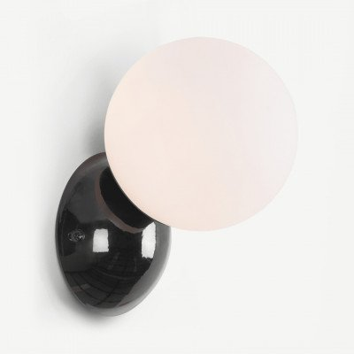 MADE.COM Vetro wandlamp, zwart