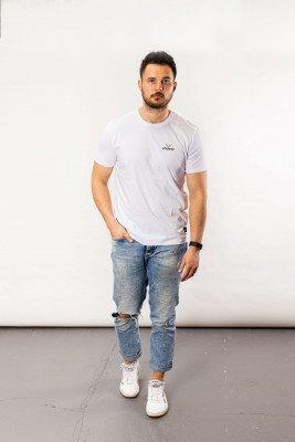 ohdeer NL Classic Logo T-Shirt | Clear White