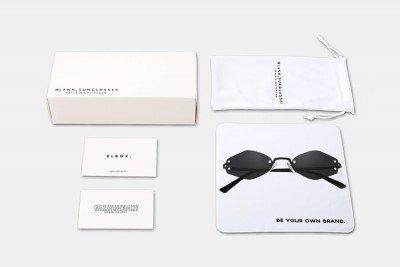 Blank-Sunglasses NL OG. - Black with black