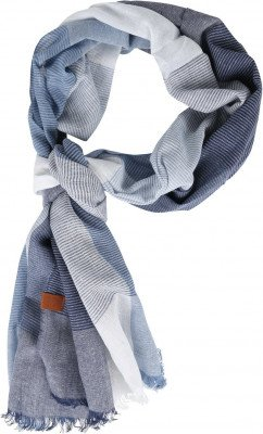 Suitable Suitable Heren Sjaal Denim Blauw