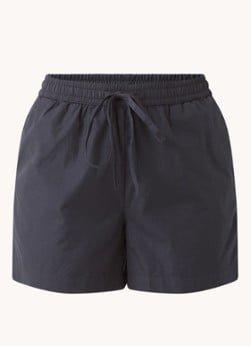 Selected Femme Selected Femme Lilo high waist straight fit korte broek van biologisch katoen