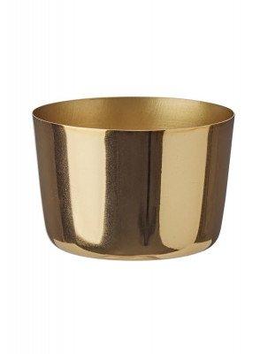 HEMA HEMA Sfeerlichthouder - 5.6 X Ø 8 Cm - Goud (goud)