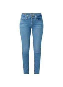 Levi's Levi's 711 mid waist skinny fit jeans met medium wassing