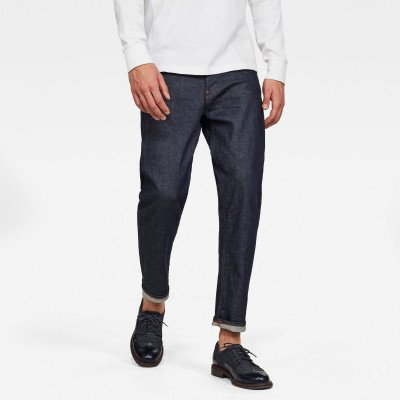 G-Star RAW Morry 3D Relaxed Tapered Jeans - Donkerblauw - Heren