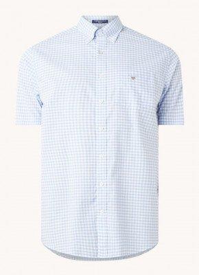 Gant Gant Regular fit overhemd met ruitdessin