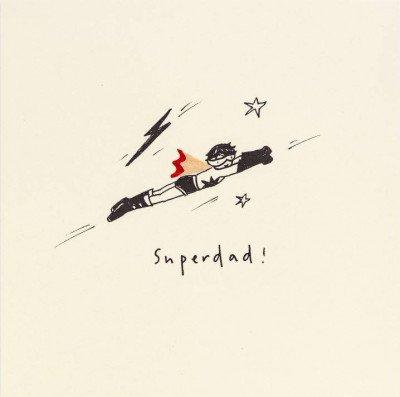 Growing Concepts Wenskaart - Superdad
