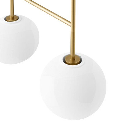 Menu Menu TR Bulb DTW LED 4lamps messing/opaal