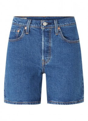 Levi's Levi's 501 Charleston high waist korte broek van denim