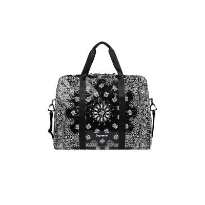 Supreme Supreme Bandana Tarp Large Duffle Bag Black (SS21)