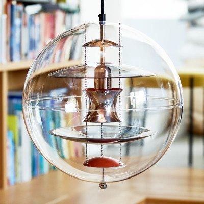 Verpan VERPAN VP Globe Coloured Glass hanglamp
