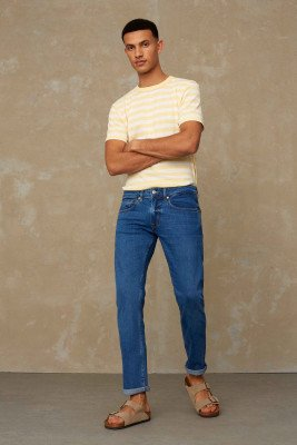 Kings of indigo Kings of Indigo - RYAN jeans Male - Light Blue