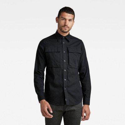 G-Star RAW Navy Seal Regular Shirt - Zwart - Heren