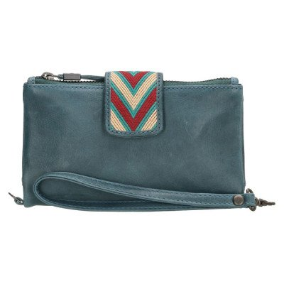 Micmacbags Micmacbags Friendship Portemonnee Jeans Blauw