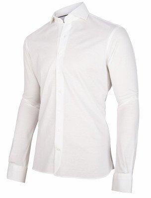Cavallaro Napoli Cavallaro Napoli Heren Overhemd - Justo Overhemd - Wit