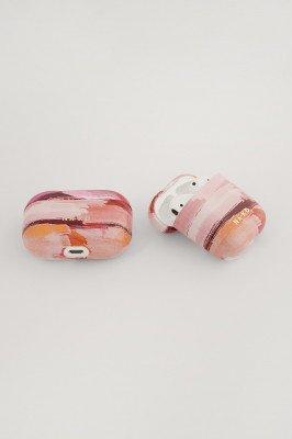 NA-KD Accessories NA-KD Accessories Printed AirPod Case - Pink