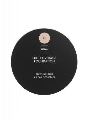 HEMA Full Coverage Foundation 01 (bruin)