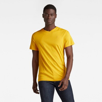 G-Star RAW Base-S T-Shirt - Geel - Heren