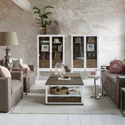 Rivièra Maison Rivièra Maison Bijzettafel 'Lovely Heart' in hoogte verstelbaar