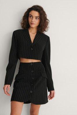 NA-KD Trend NA-KD Trend Cropped Blazer - Black