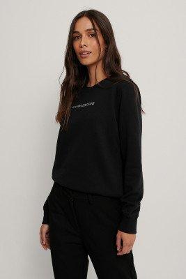 Calvin Klein Calvin Klein Sweatshirt Met Ronde Hals - Black